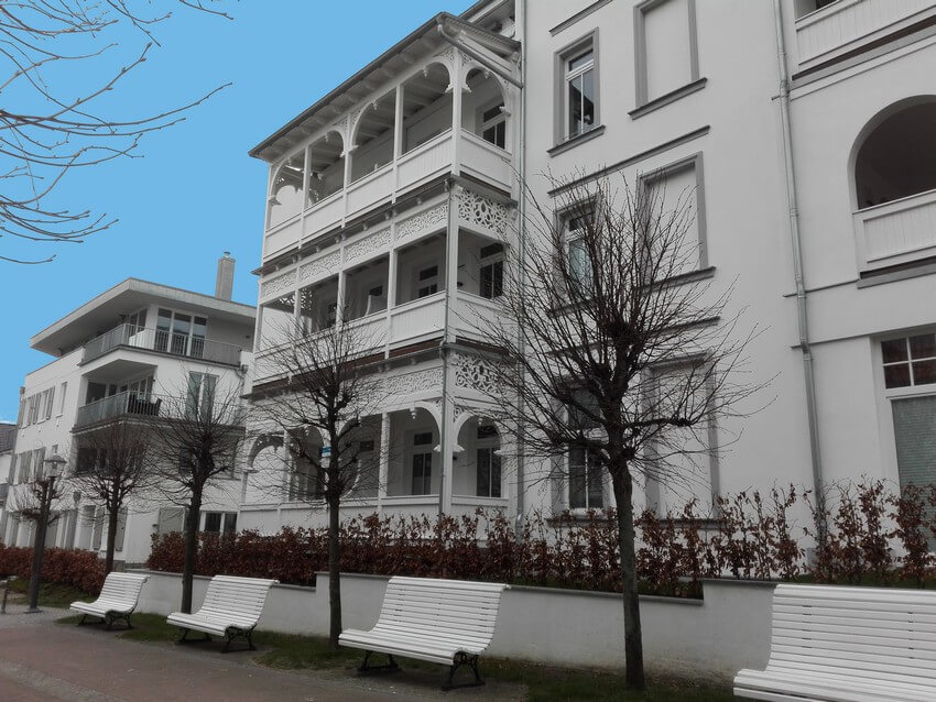 Bäderarchitektur in Binz