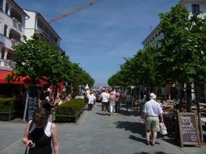 Einkaufsstraße Binz