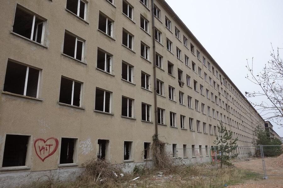 Koloss von Rügen: 4,5 km Beton und Mauerwerk