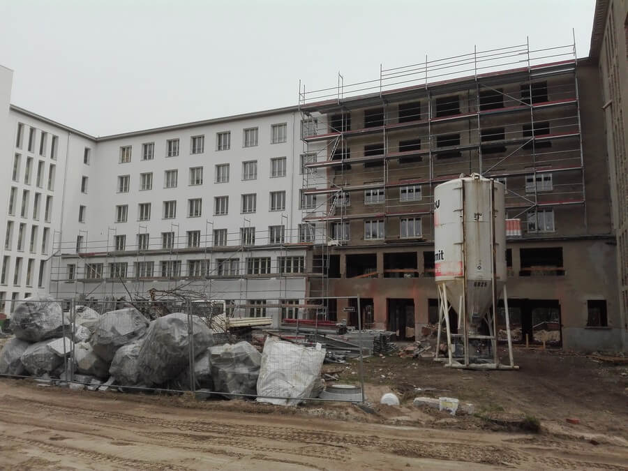 Kdf Prora construction of apartments