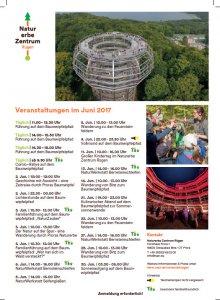 Veranstaltungen Naturerbezentrum Prora Juni 2017