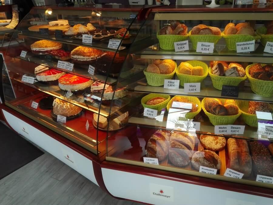 Bar of pie corner in BINZ