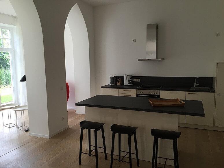 Offene Küche Wohnung 03