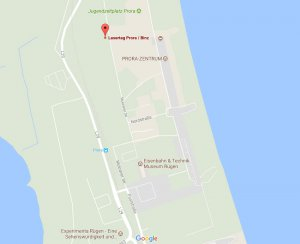 Lasertag Prora Binz: Copyright Google Maps