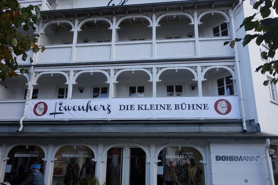 Bühne Löwenherz in Binz