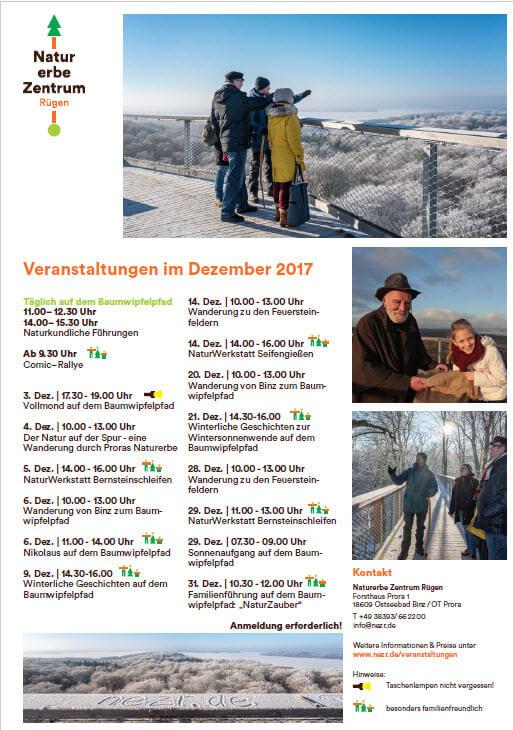 Program December: Naturerbezentrum-Forward