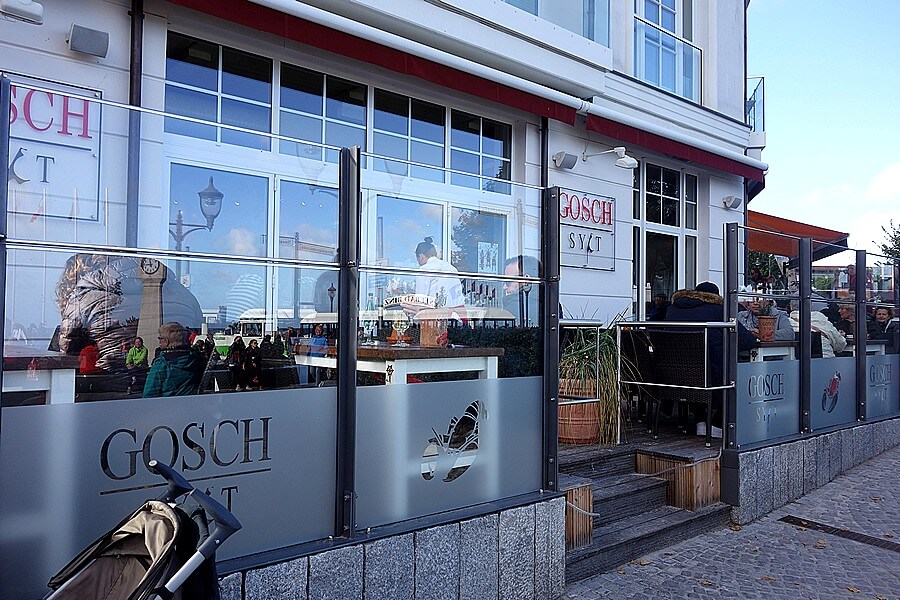 Fish restaurant Gosch in BINZ