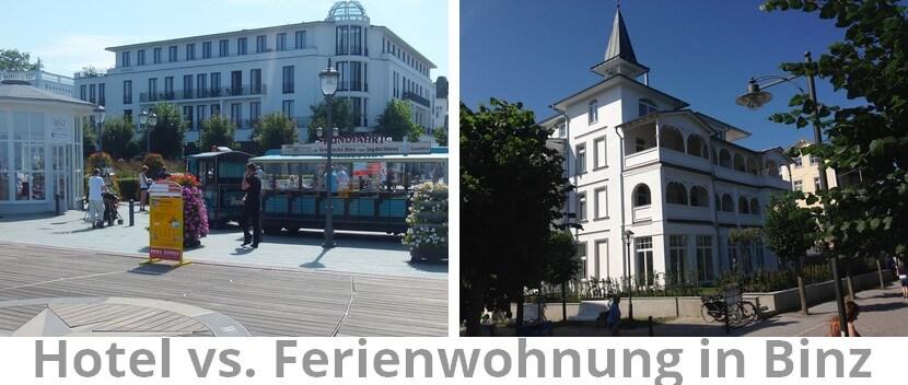 Hotel Cêres und Villa Seeblick Ferienwohnungen in Binz