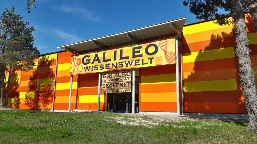 Input the new Galileo knowledge world Prora