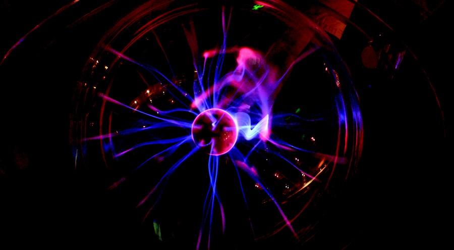 Plasmakugel Galileo Rügen