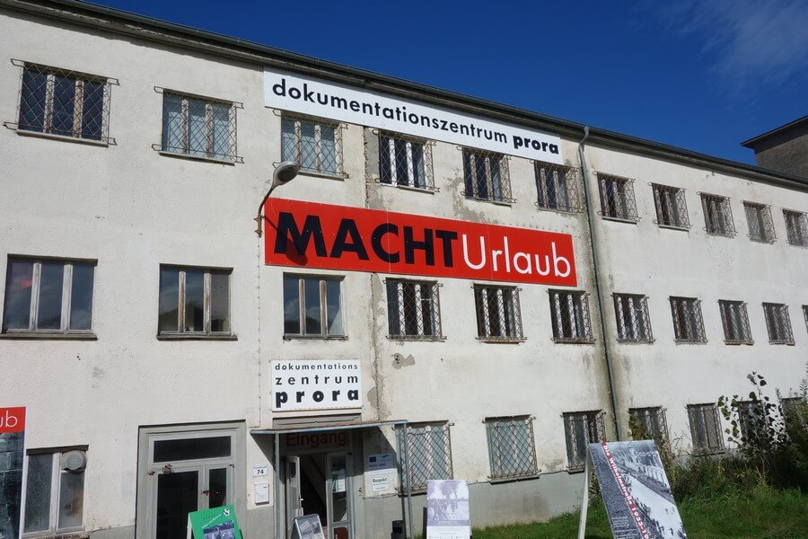Goes on holiday: Dokumentationszentrum Prora