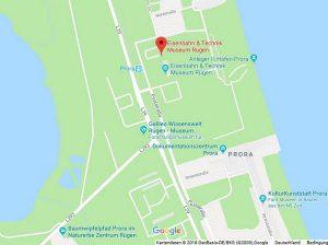 Eisenbahnmuseum Prora © 2018 Google-Maps