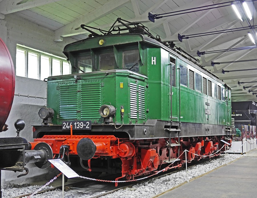 E-Lok der Deutschen Reichsbahn