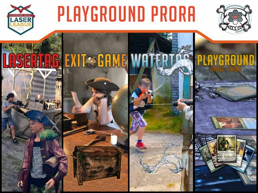 Playground Prora laser day