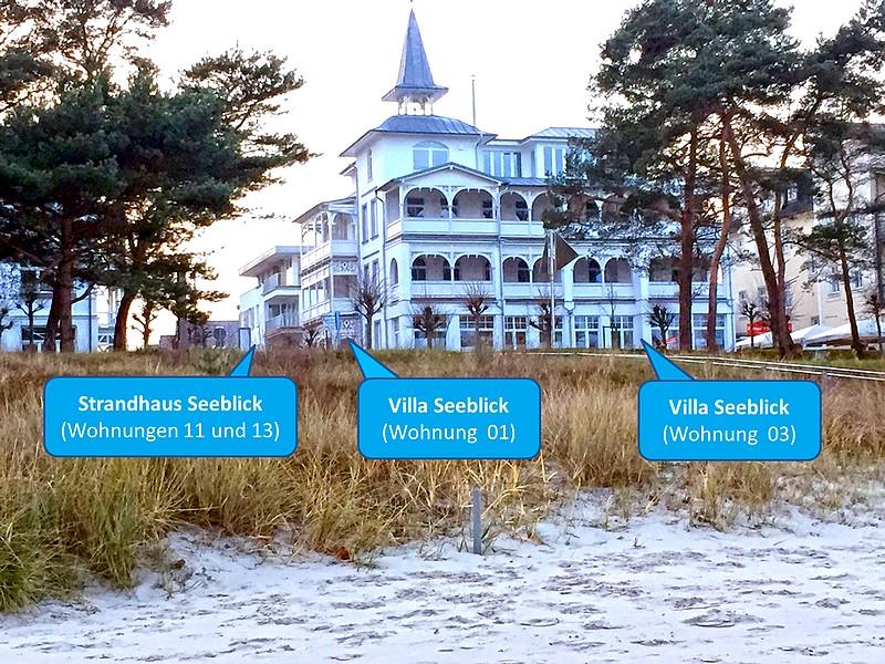 Villa und Strandhaus Seeblick