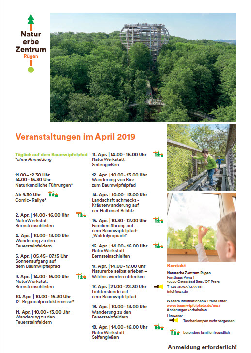 Treetop path Prora events-April 2019