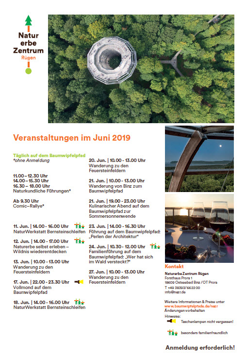 Treetop path Prora events-June 2019