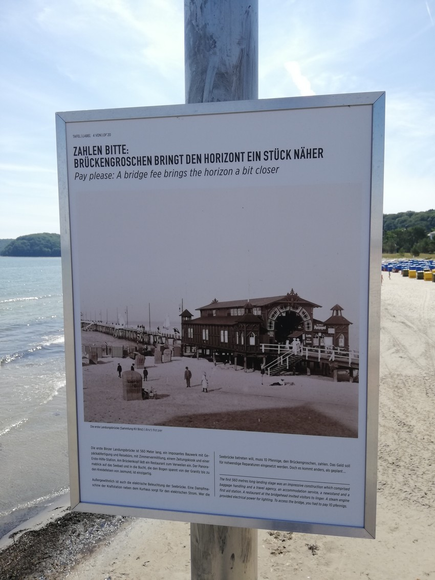 First Pier in BINZ