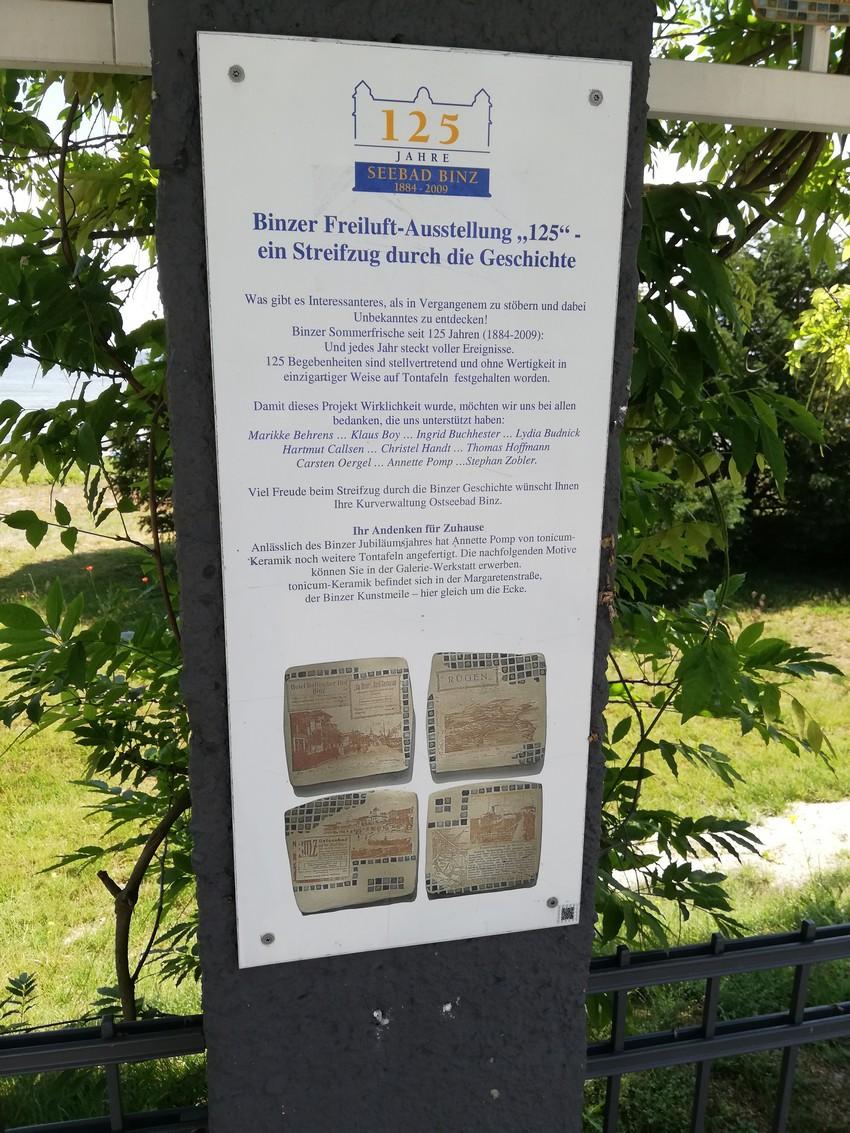 Binzer Open Air Exhibition: 125 Years Binz