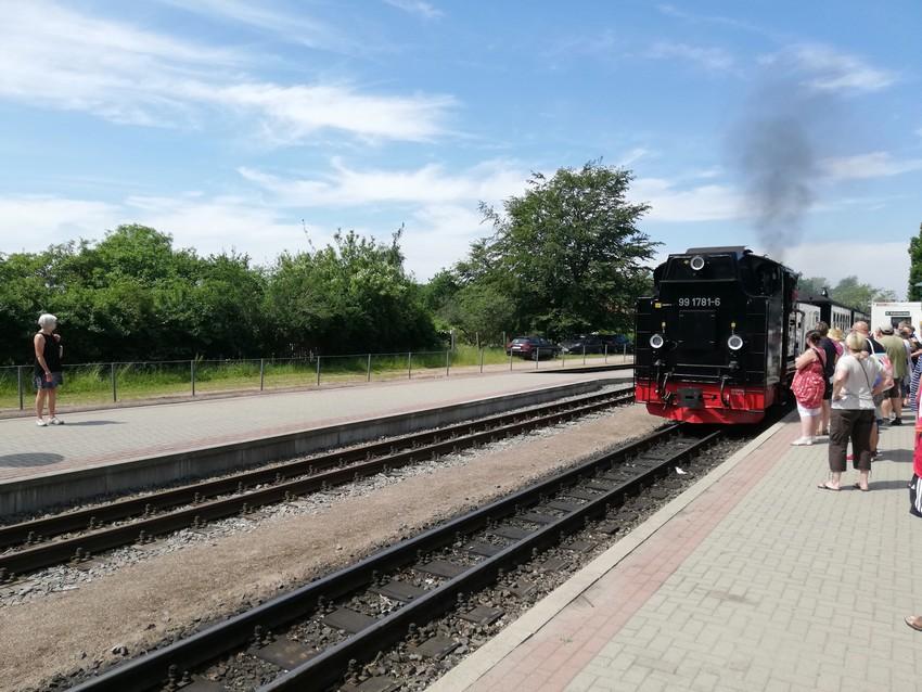 Kleinbahnhof Binz WLAN