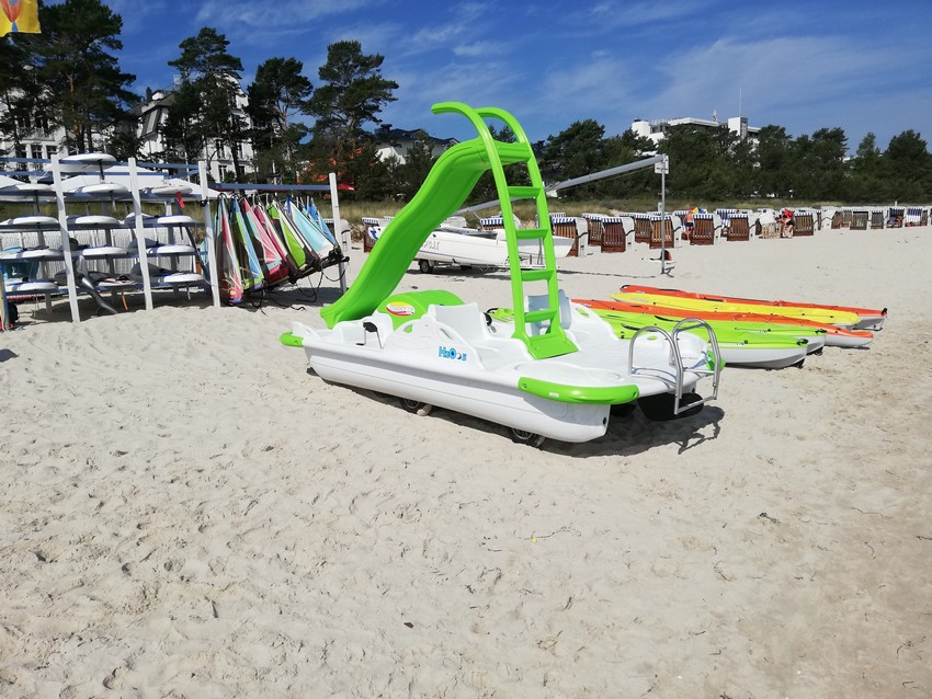 Water sports in BINZ