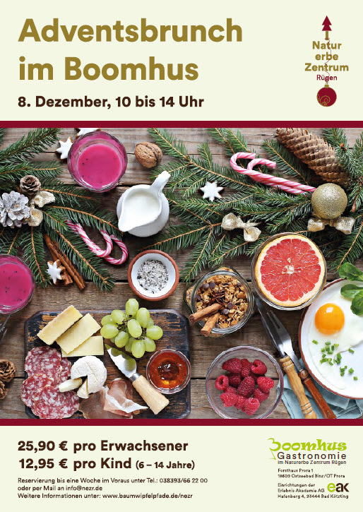Advent brunch at Boomhus