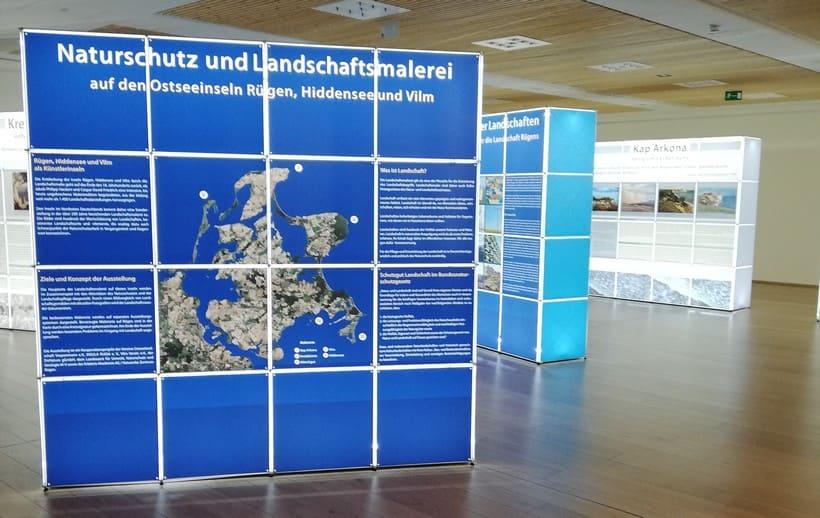 Wanderausstellung Naturerbezentrum Rügen