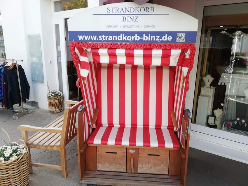 Strandkorb Binz