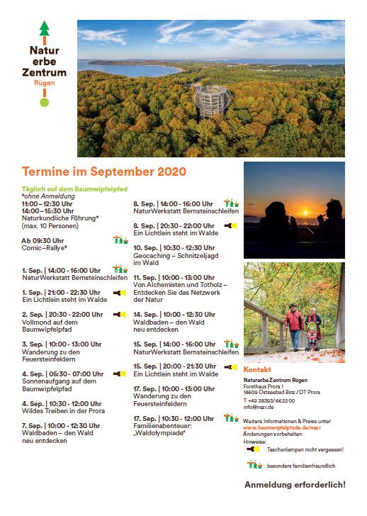 Septemberprogramm 2020 Nezr