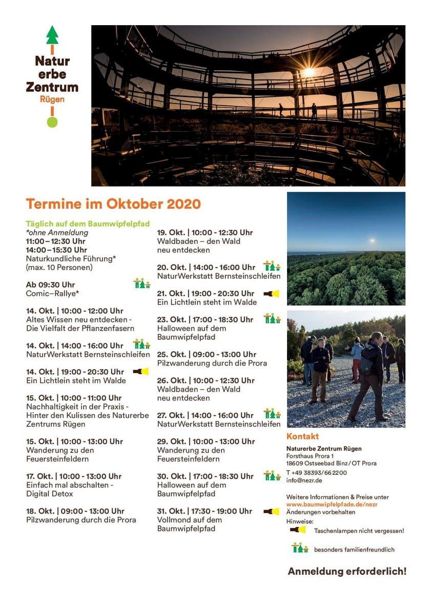 Oktoberprogramm 2020 Nezr