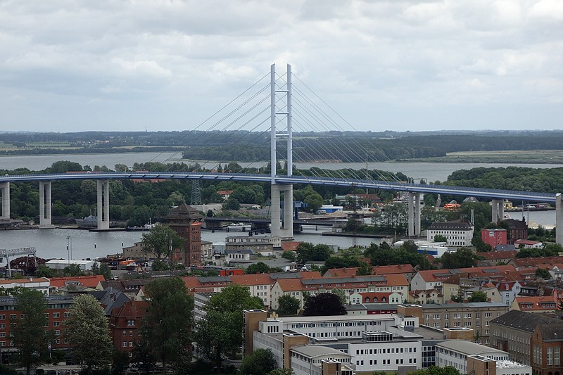 View of Stralsund from St. Mary's Church