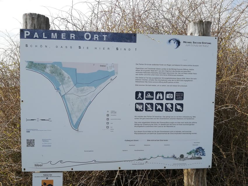 Karte Palmer Ort