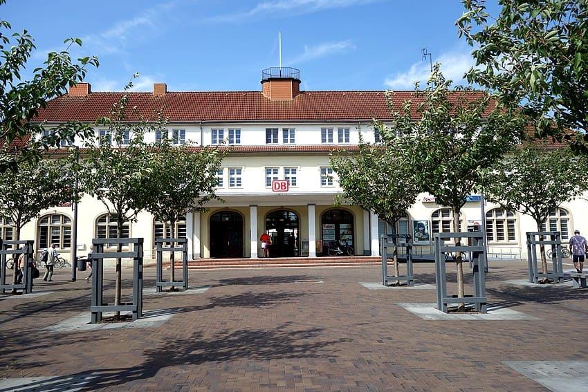 Der Bahnhof von Binz